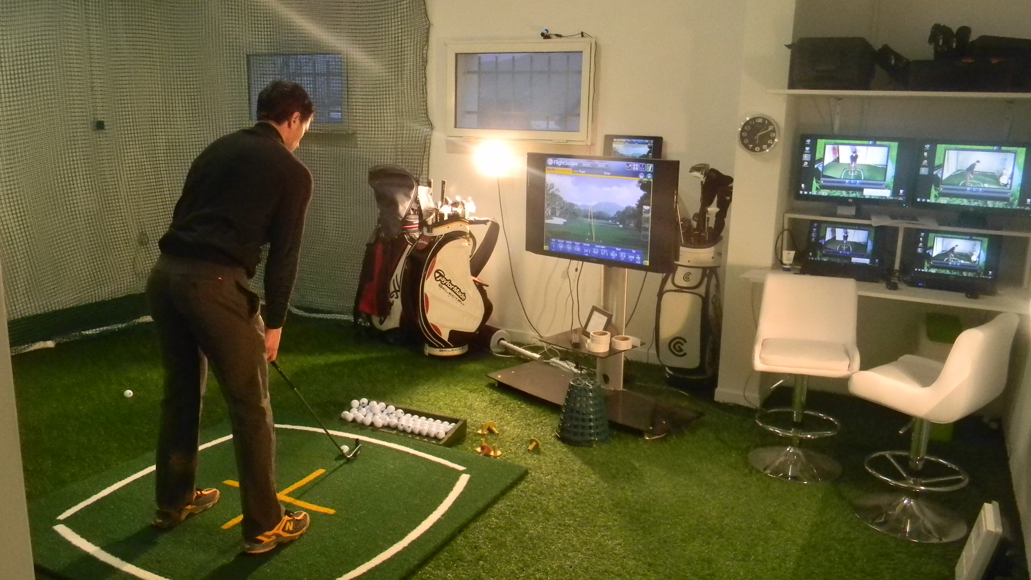 studio vid o et fitting pour jimmy may golf rh ne alpes. Black Bedroom Furniture Sets. Home Design Ideas