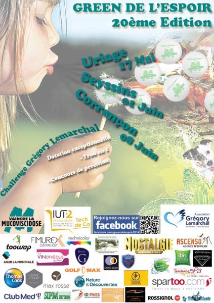 affiche green 2014