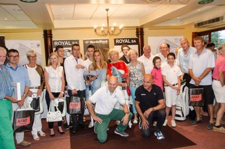 L'ensemble des lauréats entourant Bertrand et Thierry Balas de ROYAL.SA