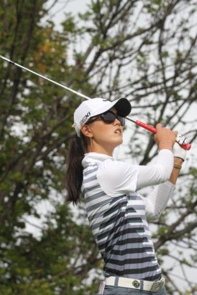 L'Américaine Michelle Wie fera partie des incontournables favorites à Evian, dernier Majeur de la saison. Ph. D. Roudy