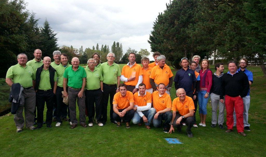Championnat Rhône-Alpes des Golfs 9 trous, à Bourg-en-Bresse (18 et 19 octobre)