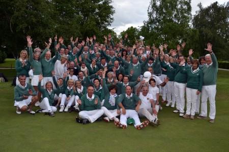 Le GCL vainqueur du Trophée de Pentecôte - Photo J. Del Pino / Golf Rhône Alpes Magazine