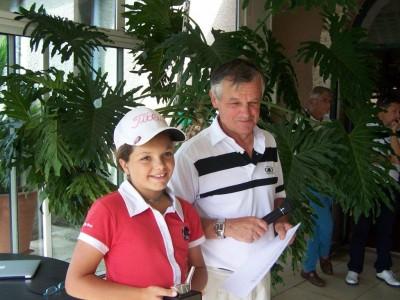Lise Marie Pagliano (Mionnay) titrée en U12