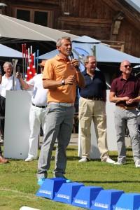 Fabrice Tarnaud, le créateur de la Spider Cup - Photo Golf Rhône Alpes Magazine
