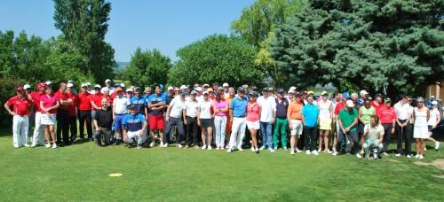 Participants et équipe d'organisation de ce 2e pro-am de Valence ville de la gastronomie