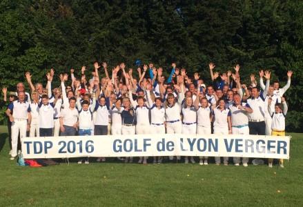 Le Lyon Verger GC vainqueur à domicile du Trophée de Pentecôte - Photo Golf Rhône-Alpes Magazine