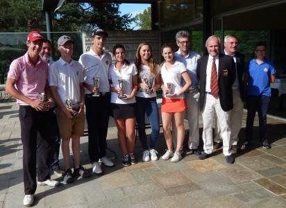Les lauréats réunis lors de la remise des récompenses