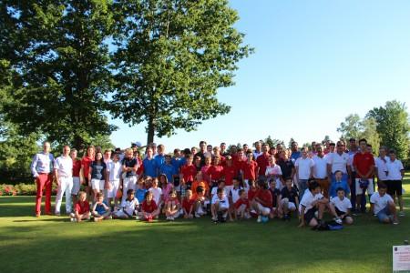 Tous les compétiteurs réunis - ©A. Prost / Golf Rhône-Alpes Magazine