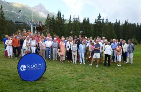 Tous les lauréats réunis - Photo © JM.C  / Golf Rhône Alpes Magazine