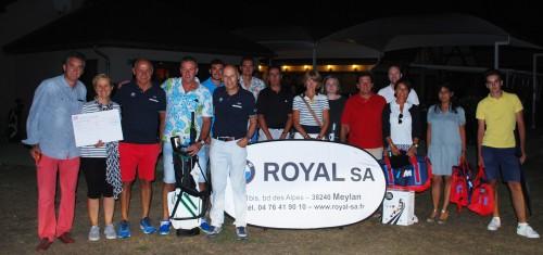 BMW Golf Cup 2016 à Bresson: une partie des lauréats