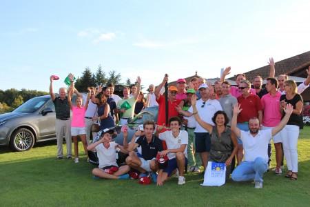 Tous les lauréats de la 5è édition US'Golf - Porsche - Photo ©A. Prost / Golf Rhône-Alpes Magazine