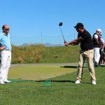 La leçon de golf