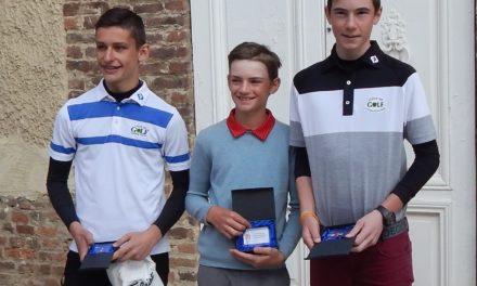 Beau succès du Grand Prix jeunes à Mionnay