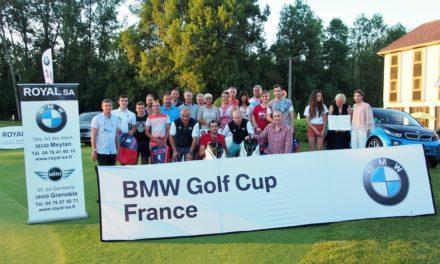 BMW Golf Cup à Charmeil : toujours royal