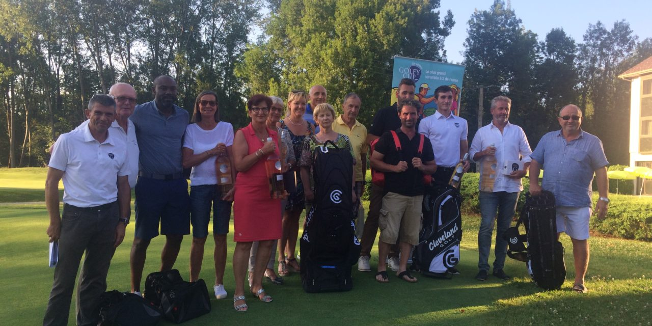 Golfy Cup à Charmeil: encore Pierrick Fillon