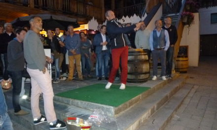 La Genépy Cup dans les rues de Méribel
