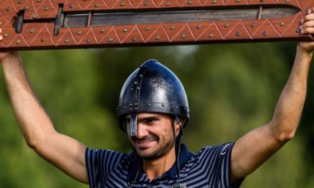 Clément Sordet roi des Vikings