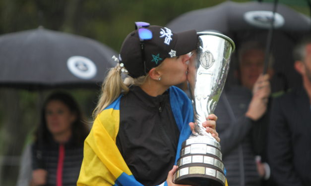 Evian Championship : Nordqvist la plus solide