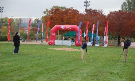 Lyon Golf Square au parc Gerland