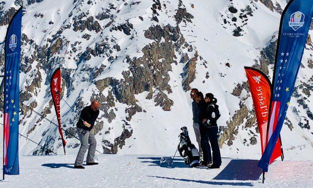 Drive au sommet pour Bjorn à Val d'Isère