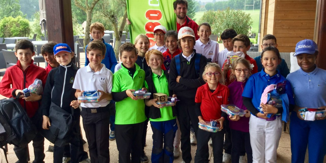 Haribo Kids Cup au Lyon-Salvagny G.C.