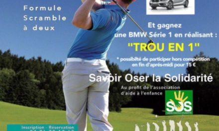 Rotary Golf Trophy et «trou en 1 BMW» ce samedi à Seyssins