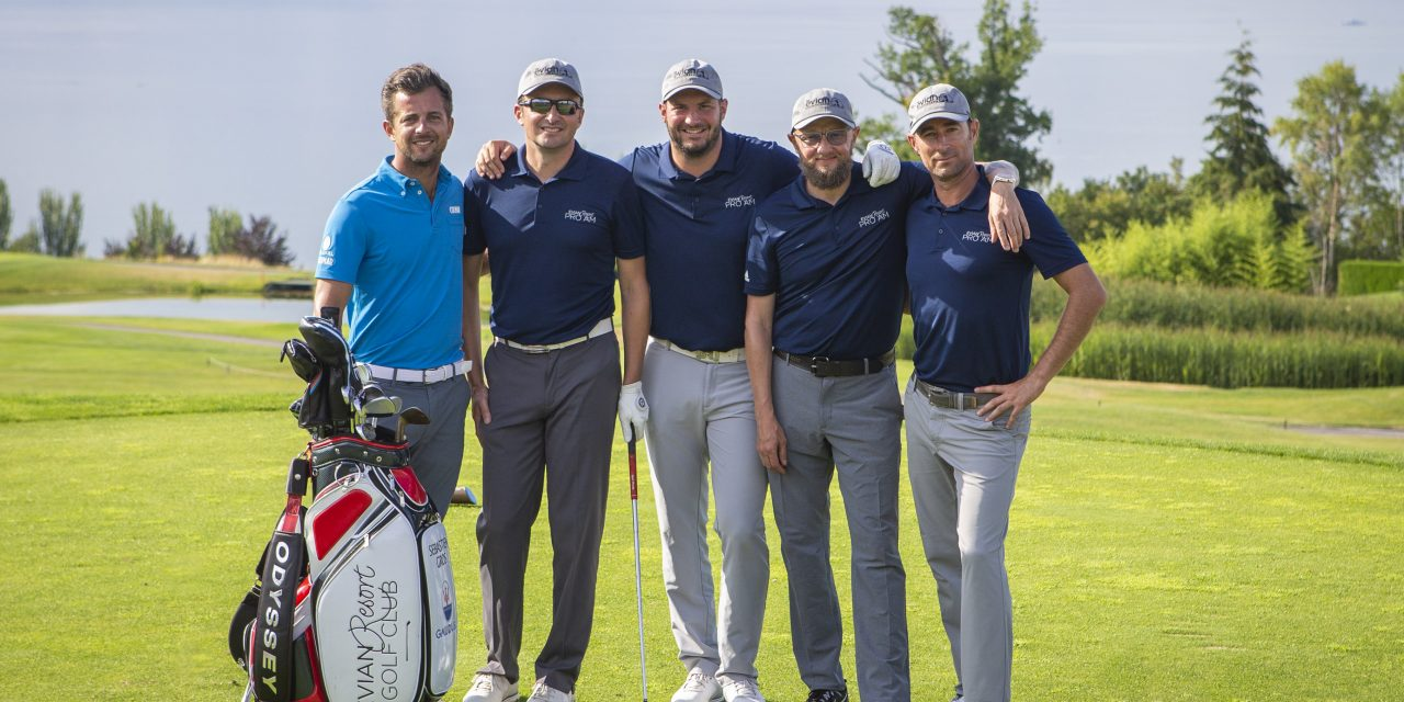 Succès de l'Evian Resort Pro-Am