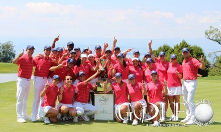 Arnold Palmer Cup: l'équipe américaine consacrée à Evian