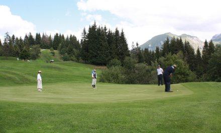 Les Gets : Golf Vintage 100% rétro