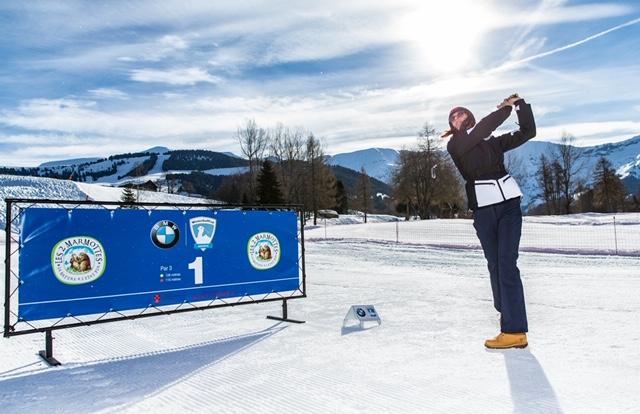 Winter Golf Cup à Megève : swinguer autrement