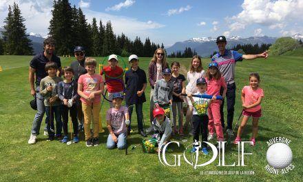 Le golf de Méribel a rouvert son parcours