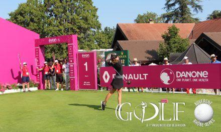 Evian Championship: la panthère rose griffe encore