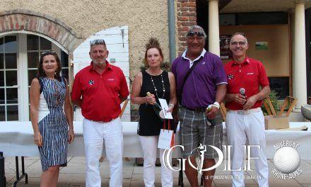 Mionnay : succès pour le «Présidente – Directeur Golf Trophy»
