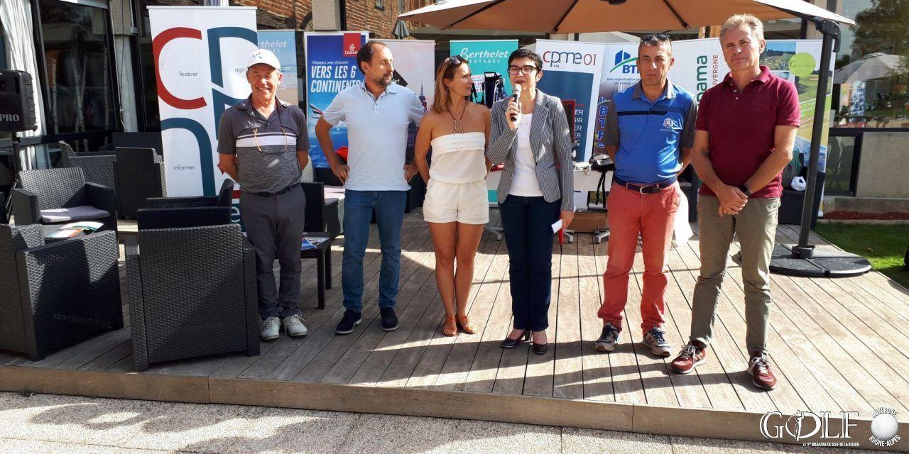 Trophée CPME – BTP de l'Ain à La Sorelle