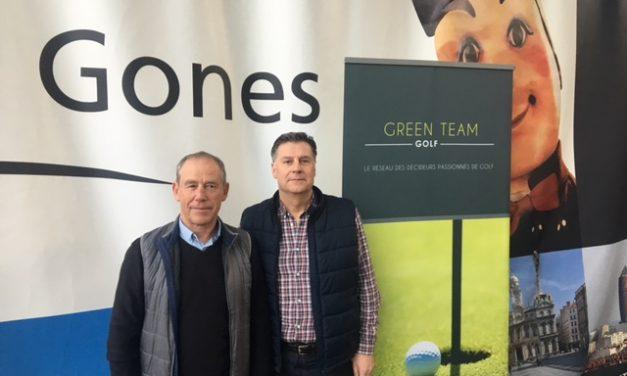 Green Team Golf reçoit ses partenaires aux Halles de Lyon