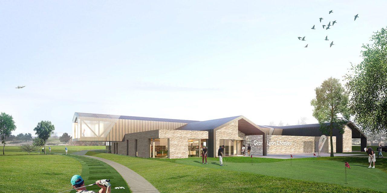 Lyon Chassieu: les travaux du nouveau club-house