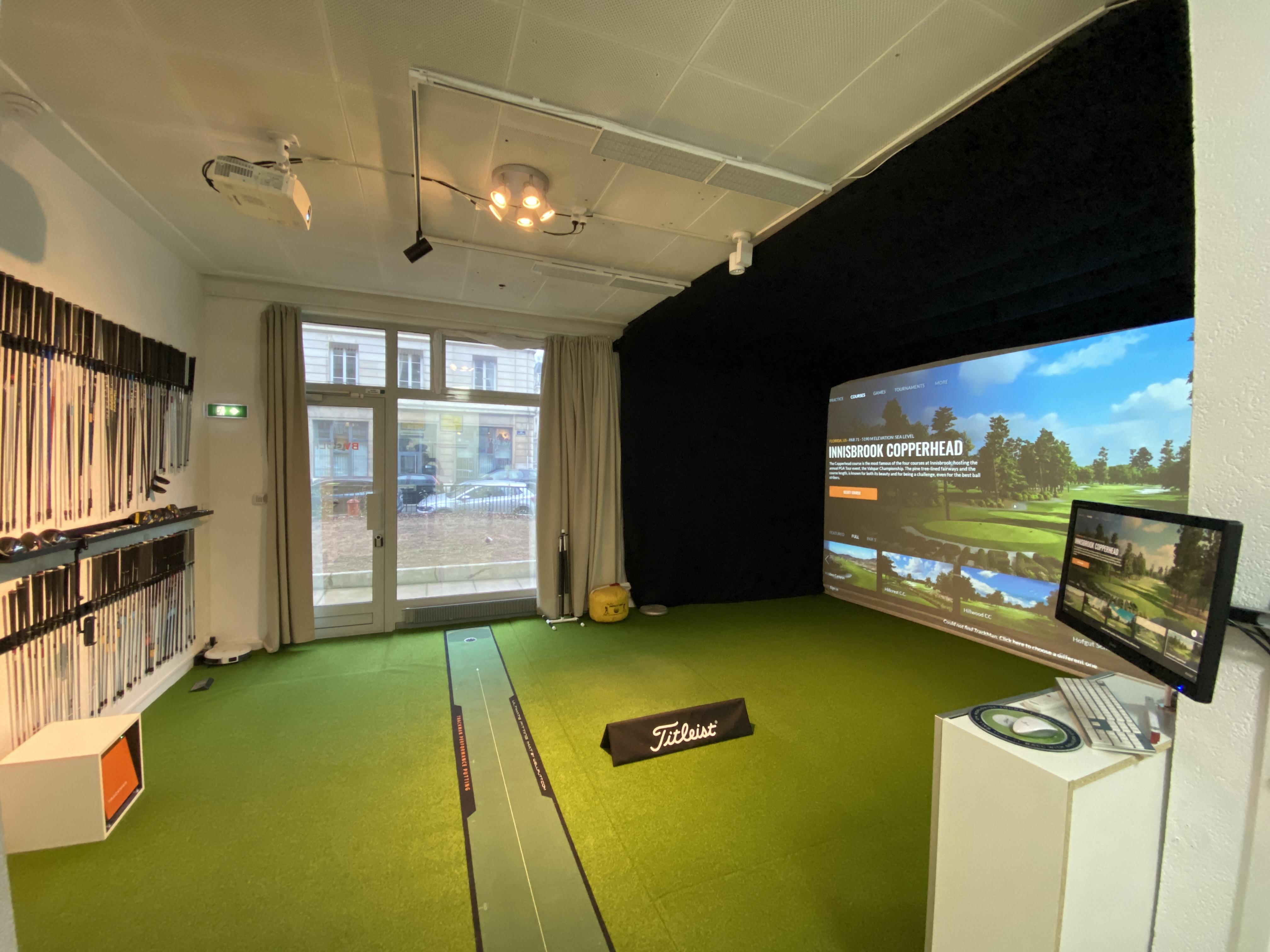 Golf Indoor au cœur de Lyon