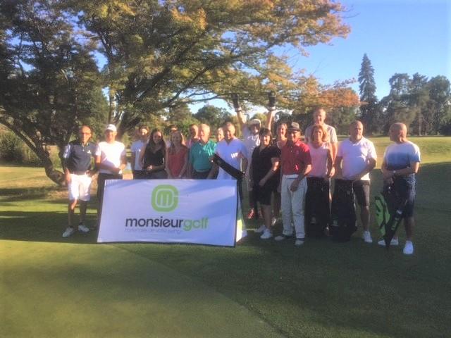 Au Sporting Vichy, gros succès de la coupe Monsieur Golf Tour