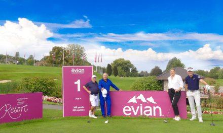 Affiche exceptionnelle à l'Evian Resort G.C