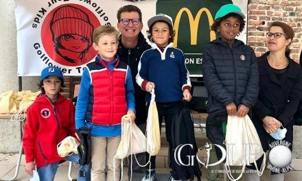 A Mionnay, belle finale du GolFlower Tour Kids