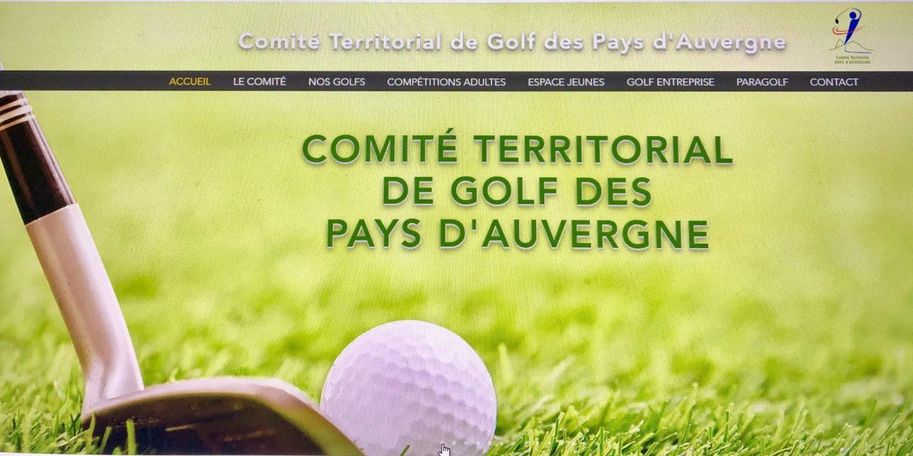 Création du Comité Territorial de Golf des Pays d'Auvergne