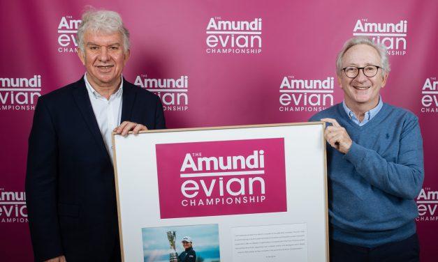 Amundi partenaire titre de l'Evian Championship