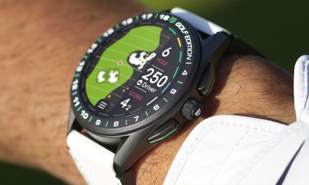 Nouvelle version de la montre connectée Golf Edition Tag Heuer
