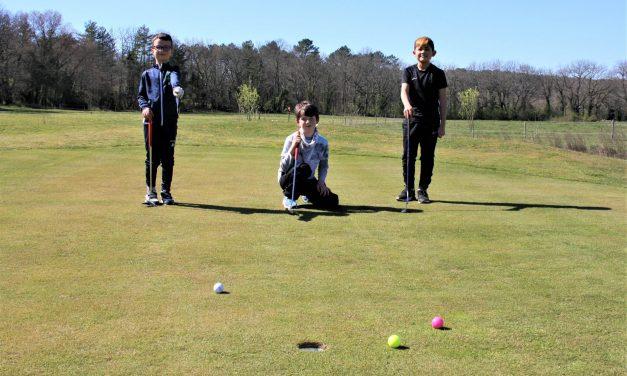 L'école de golf du Château de Bournet récompensée