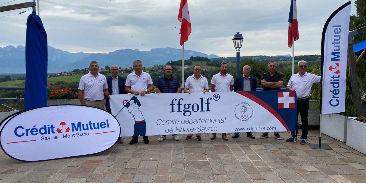 Le Crédit Mutuel Savoie-Mont Blanc partenaire du Golf en Haute-Savoie